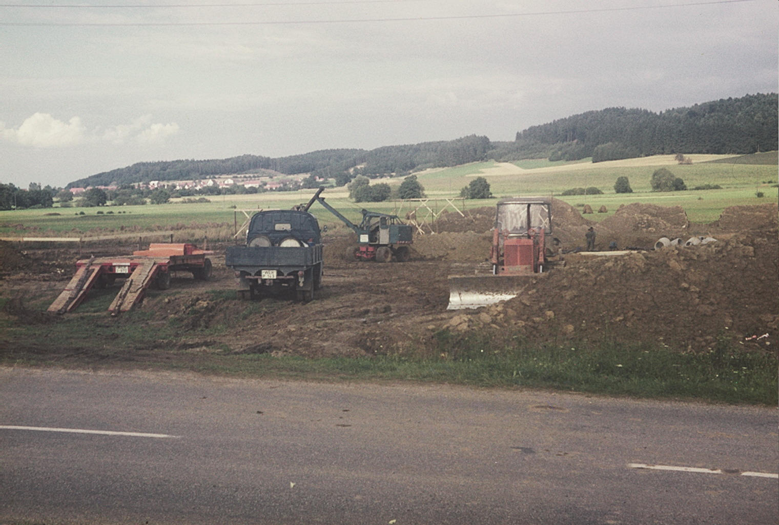 Baustelle Schule Altenmünster