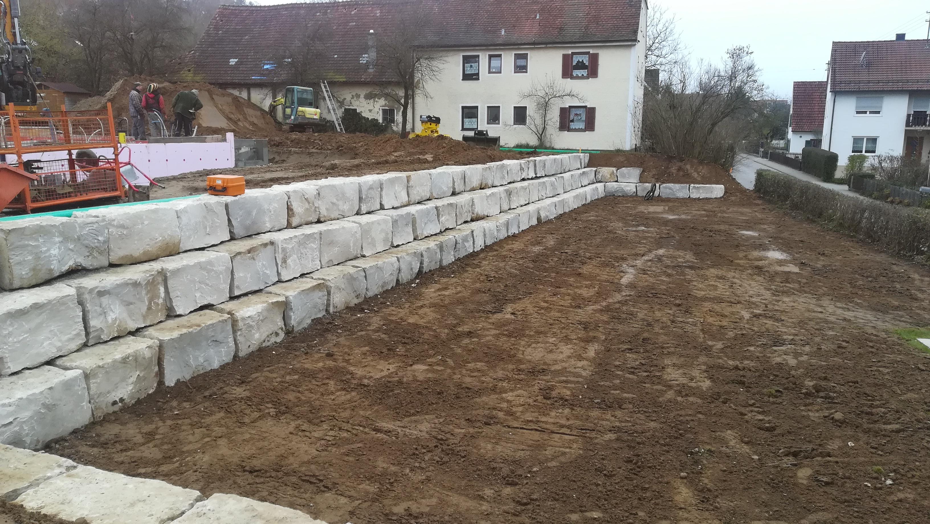 Natursteinmauer Eppishofen